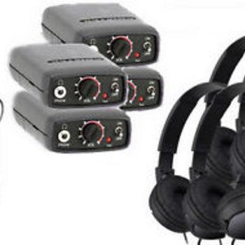Rent Comtek 216 Series Transmitter/Receiver Package (4)