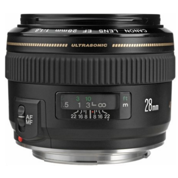 Rent Canon EF 28mm f/1.8 USM Wide Angle Lens for Canon SLR Camera