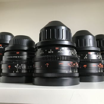 Rent ZEISS Super Speeds MKII/III T1.3  Lens Set (18/25/35/50/85) + RED Pro Prime 300mm with Clip-On NDs