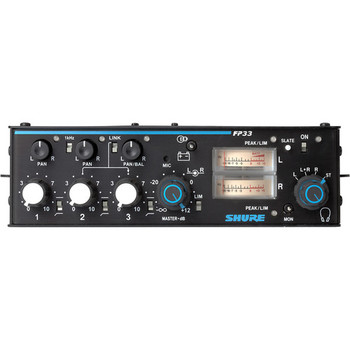 Rent Shure FP33 3 Channel Mixer