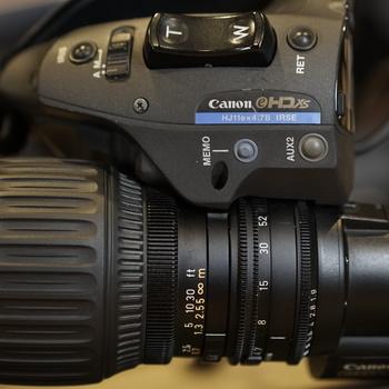 """Rent Canon HJ11ex4.7B-IASE eHDxs 11x 2/3"""" HDTV ENG Lens"""