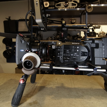 Rent Sony FS7 Cinema Shoulder Mount Kit with SmallHD 702