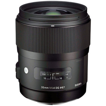 Rent Sigma 35mm f/1.4 DG HSM Art Lens for Canon
