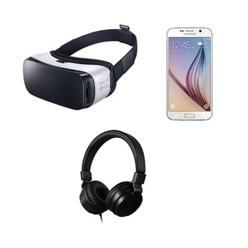Rent Set of 2 Samsung Gear VR with Galaxy S6 Phones and JVC headphones
