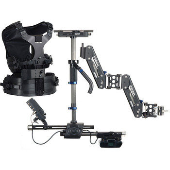 Rent Steadicam Zephyr Camera Stabilizer with HD Monitor (AB Battery Mount, Standard Vest)