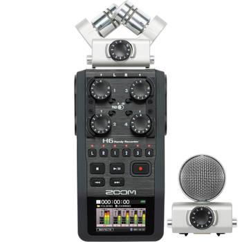 Rent Shotgun / Boom / Zoom H6 Audio Kit