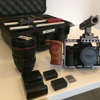 Rent Sony A7s II Kit