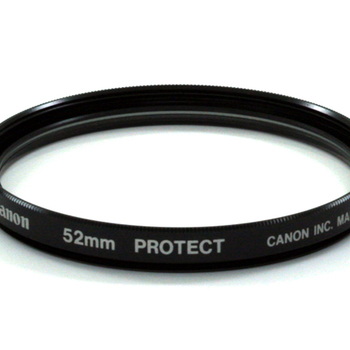 Rent Canon 52mm protective lens filter