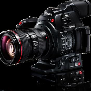 Rent Canon C100 Mark II with Monopod