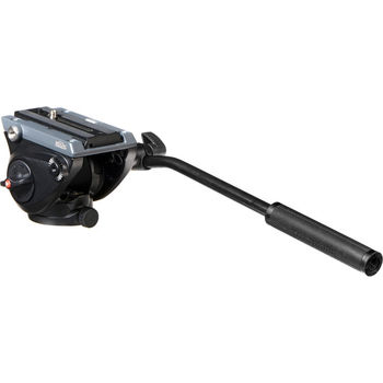 Rent Manfrotto 055XDB tripod with MVH500A Fluid Drag Video Head