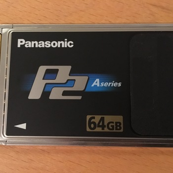Rent Panasonic 64GB A-Series P2 Card