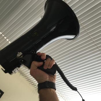 Rent Uzi 50 Watt Megaphone