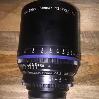 Rent Zeiss CP.2 Cinema Lens 135mm/T2.1 EF