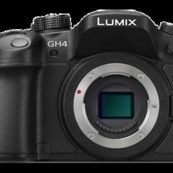 Rent Panasonic Lumix GH4 + Metabones EF + 4 Lenses