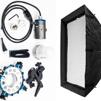 Rent 1K Tungsten Light with Medium Chimera/Soft Box