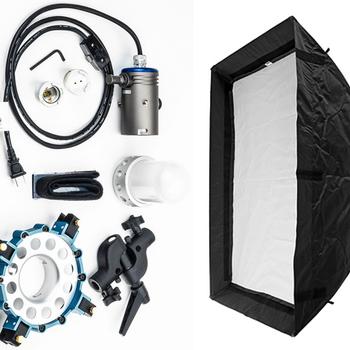 Rent 1K Tungsten Light with Medium Chimera/Soft Box