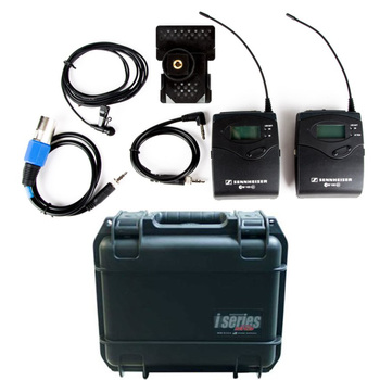 Rent Sennheiser EW112P G3 A-Band Wireless Lav Mic Bundle with hard case and batteries