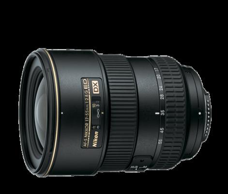 2147 af s dx zoom nikkor 17 55mm f 2.8g if ed front
