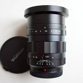 Rent Voightlander Nokton f0.95 prime lense 17.5mm