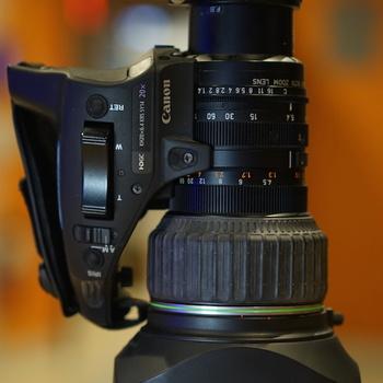"""Rent Canon KH20x 6.4 ENG 1/2"""" Lens"""