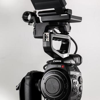 Rent Canon C300 EF Kit (includes lens + shotgun mic)