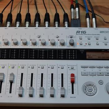 Rent Zoom R16 8-track Portable SD Recorder/mixer