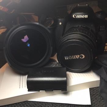 Rent 60D + 20mm F2.0 +  Fisheye + 18-55mm + 2 batteries +  32GB Card