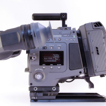 Rent Sony F65 Digital Cinema with Rotary Shutter and HDVFC30WR Viewfinder, Media