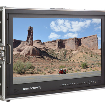 "Rent Delvcam 28"" Quadview monitor"