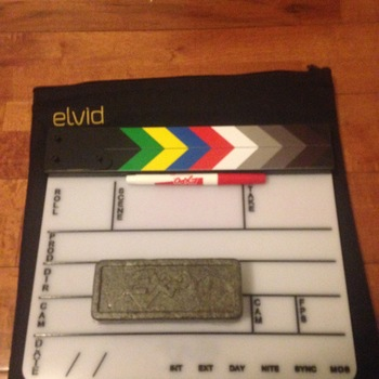 "Rent Elvid 9 x 11"" Acrylic Dry Erase Production Slate with Soft Case"