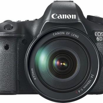 Rent Canon EOS 6D DSLR