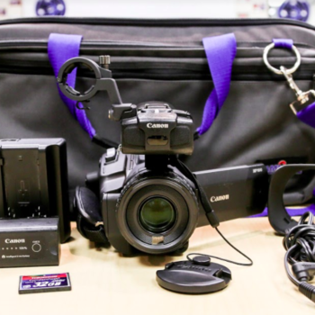 Rent Canon XF 100 Camcorders