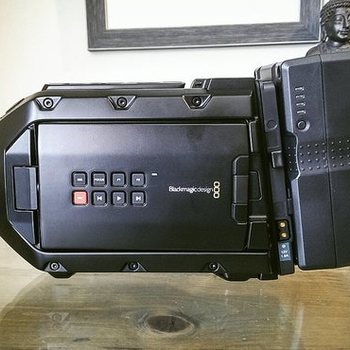 Rent Ursa Mini 4.6K EF + Tripod w/Fluid head + 4 Lenses & ND Filter