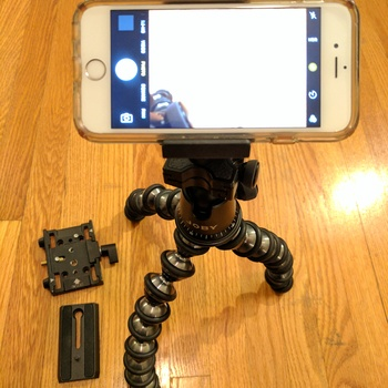 Rent Joby-Gorillapod Focus Pro w/ Ballhead X Bundle + Manfrotto Plate + Joby Cellphone Head
