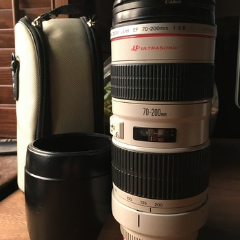 Rent EF 70-200mm f/2.8L USM Lens w/ UV filter