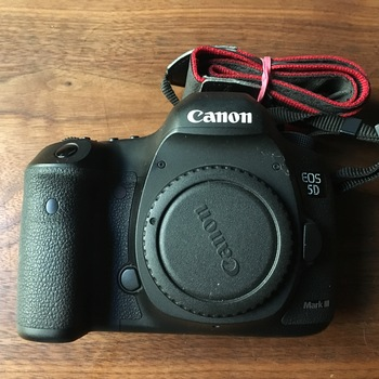 Rent Canon 5D Mark III w/ 3 batteries, 96GB memory
