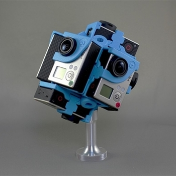 Rent 360RIZE (360Heros) Pro7v2- 7 GoPro Hero 4 VR Rig