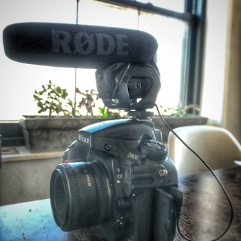 Rent Nikon D800 Video Kit w/50mm 1.8 lens, Rode Shotgun mic