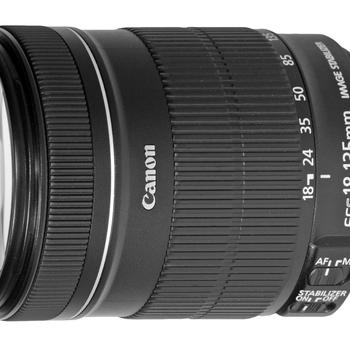 Rent Canon EF-S 18-135mm f/3.5-5.6 (Macro .45m/1.5ft)