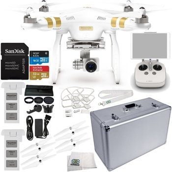 Rent DJI Phantom 3 Professional Professional 4k Kit