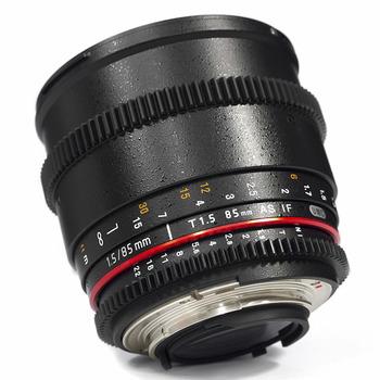 Rent Rokinon 85mm T1.5 Cine Lens (Canon EF)