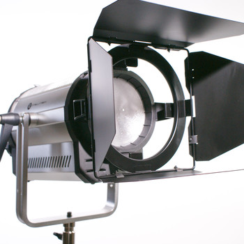 Rent 1.6K Bi-Color LED Fresnel with Soft Box— Intellytech Light Cannon F-165