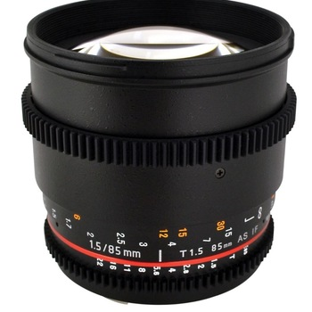 Rent 85mm T1.5 lens EF Mount