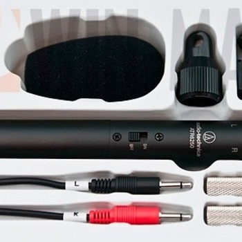 Rent stereo mic