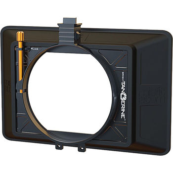"Rent Bright Tangerine Misfit Atom 4x5.65""/4x4"" Ultra Lightweight 2-Stage Clip-On Matte Box"