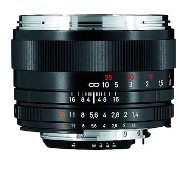 Rent Zeiss 50mm f/1.4 Planar T ZF.2 Series Manual Focus Lens for the Nikon F