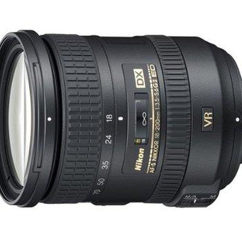 Rent Nikon 18-200mm f/3.5-5.6G AF-S ED VR II Nikkor Telephoto Zoom Lens