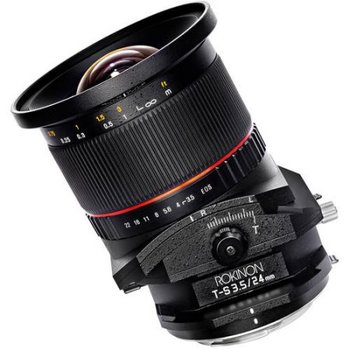 Rent Rokinon 24mm Tilt Shift Lens f/3.5 NIKON mount