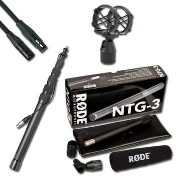 Rent RODE NTG-3 Shotgun Mic & location package