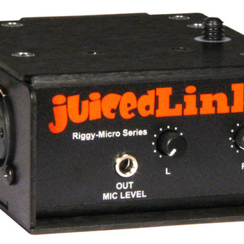 Rent JuicedLink Riggy Micro 222 Low Noise Preamp